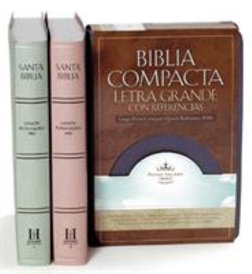 Biblia Compacta Letra Grande Con Referencias-RVR 1960 9781433600111