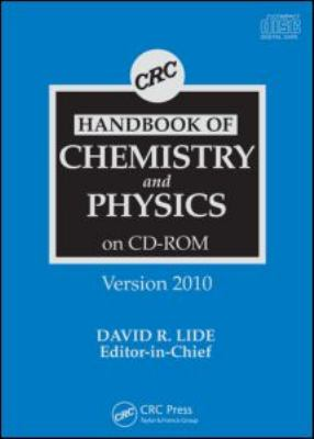 CRC Handbook of Chemistry and Physics 9781439817551