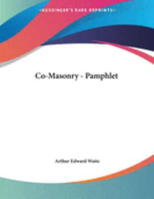 Co-Masonry - Pamphlet 9781430434788