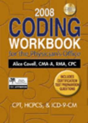 Coding Workbook for the Physician's Office [With CDROM] 9781435425958