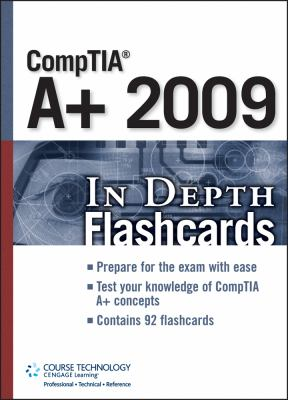 Comptia A+ 2009 in Depth Flashcards 9781435456822