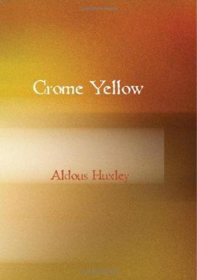 review of crome yellow by aldous Crome yellow, huxley's first novel literature profound or intriguing that i also did not like chrome yellow find this review inappropriate and think it.