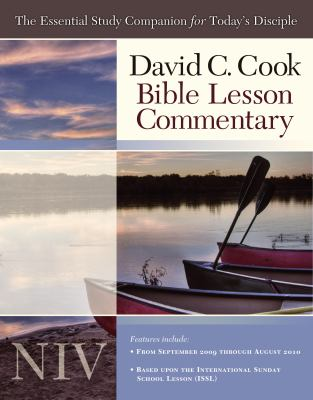 David C. Cook's NIV Bible Lesson Commentary: The Essential Study Companion for Every Disciple 9781434767547