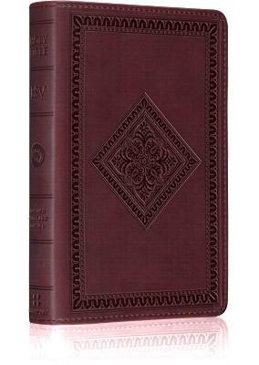Deluxe Compact Bible-ESV-Diamond Design 9781433503818