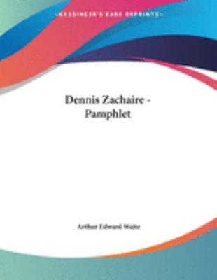 Dennis Zachaire - Pamphlet