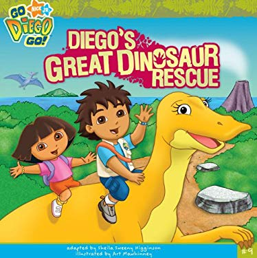 Diego's Great Dinosaur Rescue 9781436450409