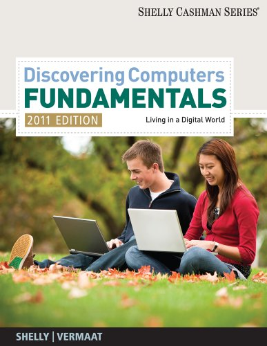 Discovering Computers-Fundamentals: Living in a Digital World 9781439079454