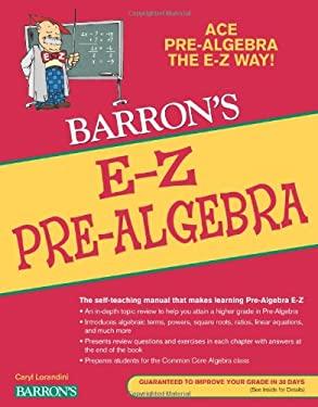 E-Z Pre-Algebra 9781438000114