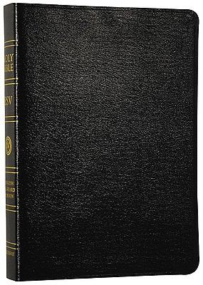 ESV Giant Print Bible (Genuine Leather, Black)