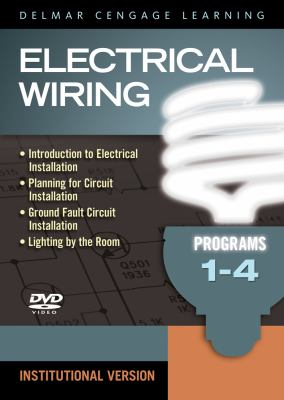 Electrical Wiring 1, Student Version: Programs 1-4