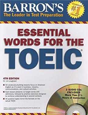 Barron's Essential Words for the TOEIC [With 2 CDs] 9781438070346