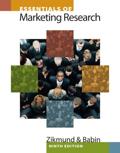 Essentials of Marketing Research [With Access Code] 9781439047545