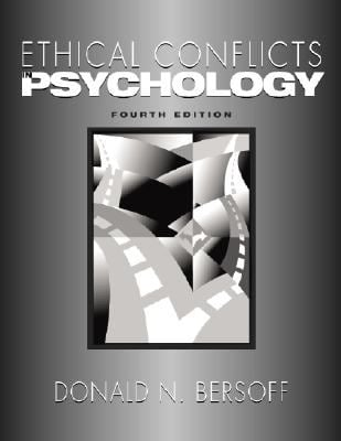 Ethical Conflicts in Psychology 9781433803536