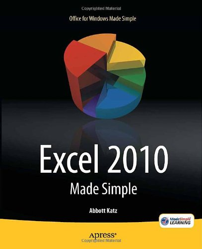 Excel 2010 Made Simple 9781430235453