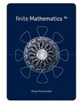 Finite Mathematics 9781439049242