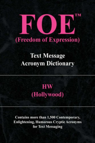 Foe (Freedom of Expression) 9781436328647