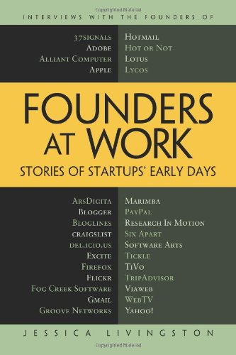 Founders at Work: Stories of Startups' Early Days 9781430210788