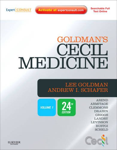 Goldman's Cecil Medicine: Expert Consult Premium Edition -- Enhanced Online Features and Print, Two Volume Set 9781437727883