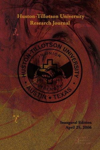 Huston-Tillotson University Research Journal 9781434304841