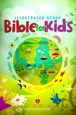Illustrated Study Bible for Kids-HCSB 9781433600715