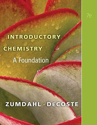 Introductory Chemistry: A Foundation 9781439049402