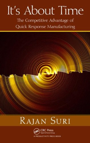 It's about Time: The Competitive Advantage of Quick Response Manufacturing [With CDROM] 9781439805954