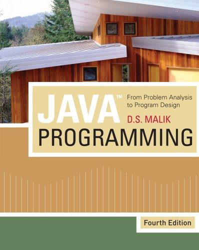 Java Programming: From Problem Analysis to Program Design [With CDROM] 9781439035665