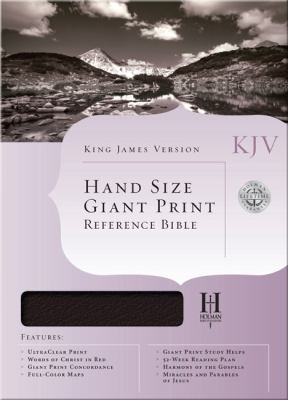 Hand Size Giant Print Reference Bible-KJV 9781433601002