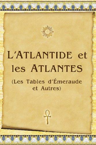 L'Atlantide Et Les Atlantes
