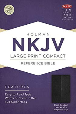 Large Print Compact Reference Bible-NKJV-Magnetic Flap 9781433606403
