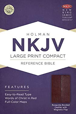 Large Print Compact Reference Bible-NKJV-Magnetic Flap 9781433606410