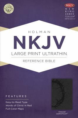 Large Print Ultrathin Reference Bible-NKJV 9781433614897