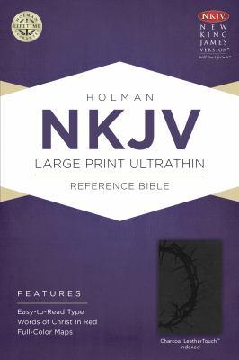 Large Print Ultrathin Reference Bible-NKJV 9781433614903