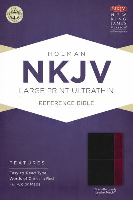 Large Print Ultrathin Reference Bible-NKJV 9781433614910
