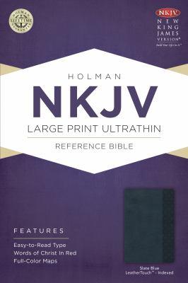 Large Print Ultrathin Reference Bible-NKJV 9781433614927