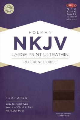 Large Print Ultrathin Reference Bible-NKJV 9781433614934