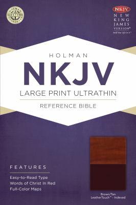 Large Print Ultrathin Reference Bible-NKJV 9781433614989