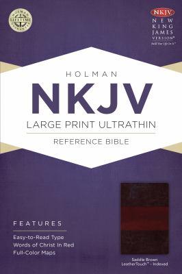 Large Print Ultrathin Reference Bible-NKJV 9781433615009