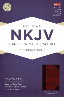 Large Print Ultrathin Reference Bible-NKJV 9781433615016