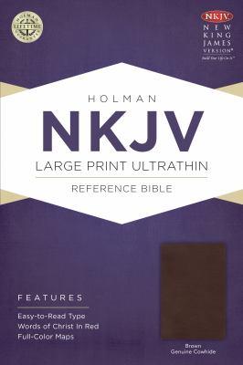 Large Print Ultrathin Reference Bible-NKJV 9781433615030