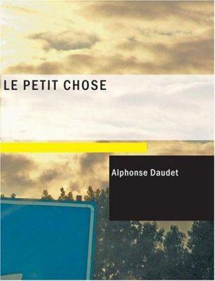 Le Petit Chose 9781434633897