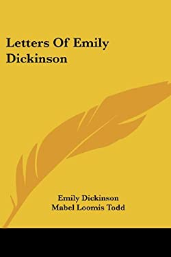 Letters of Emily Dickinson 9781430450849