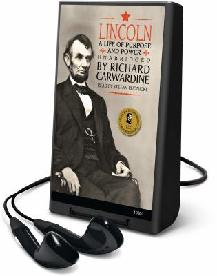 Lincoln: A Life of Purpose and Power [With Earbuds] 9781433264634