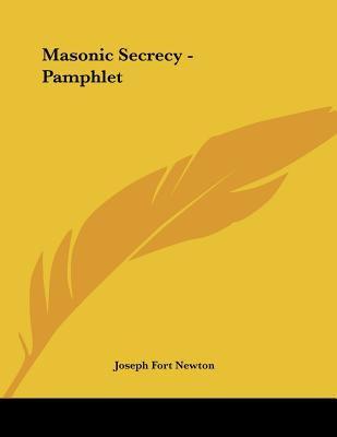 Masonic Secrecy - Pamphlet
