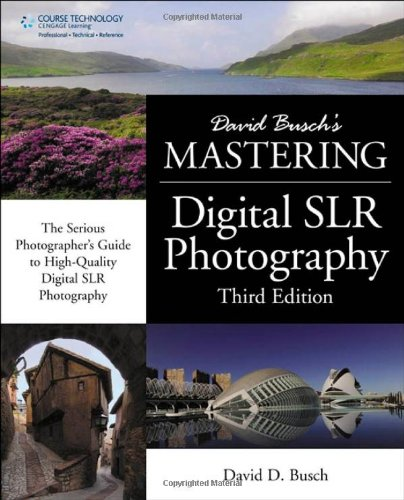David Busch's Mastering Digital SLR Photography 9781435458321