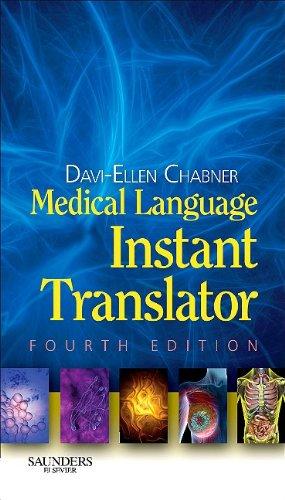 Medical Language Instant Translator 9781437705645