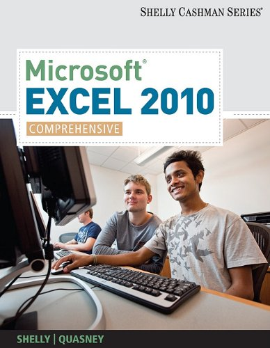 Microsoft Excel 2010, Comprehensive 9781439079010