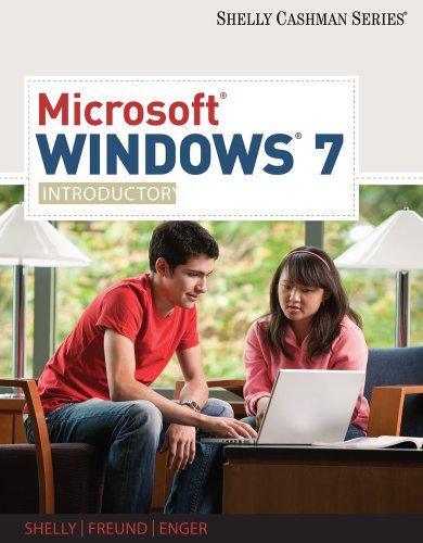 Microsoft Windows 7: Introductory 9781439081051