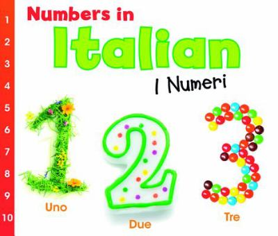 Numbers in Italian: I Numeri 9781432966836
