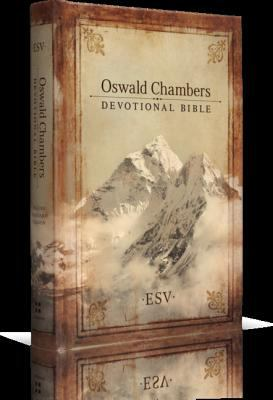 Oswald Chambers Devotional Bible-ESV 9781433502262